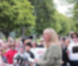 MCCL's Cathy Blaeser at Minnesota rally against Planned Parenthood