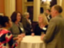 Legislative Dinner guests talking