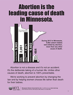 Abortion is the leading cause of death in Minnesota