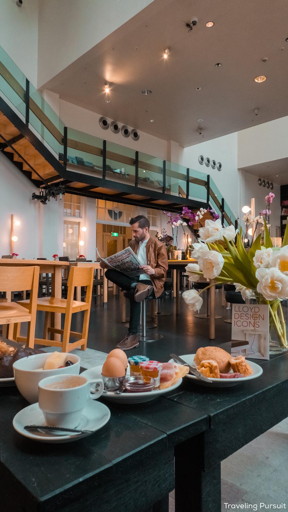 Lloyd hotel restaurant amsterdam