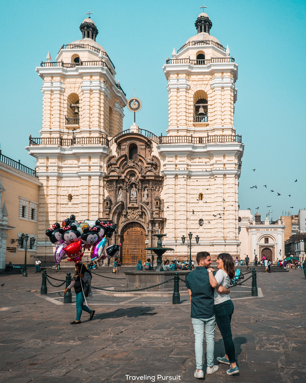 Basilica & Convent of San Francisco Lima
