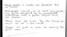 Can we make London friendlier?
