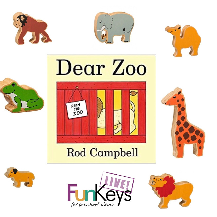 FunKeys LIVE! 'Animals' Themed Recital for babies and toddlers!