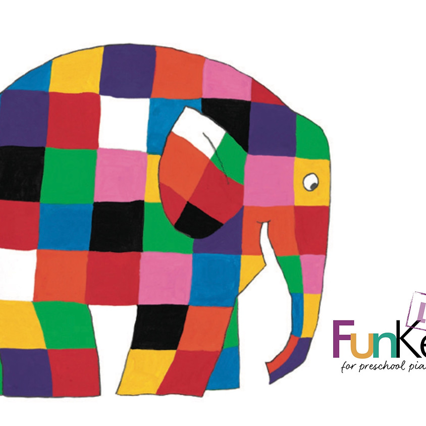 FunKeys LIVE! 'Rainbow' Recital for babies and toddlers!
