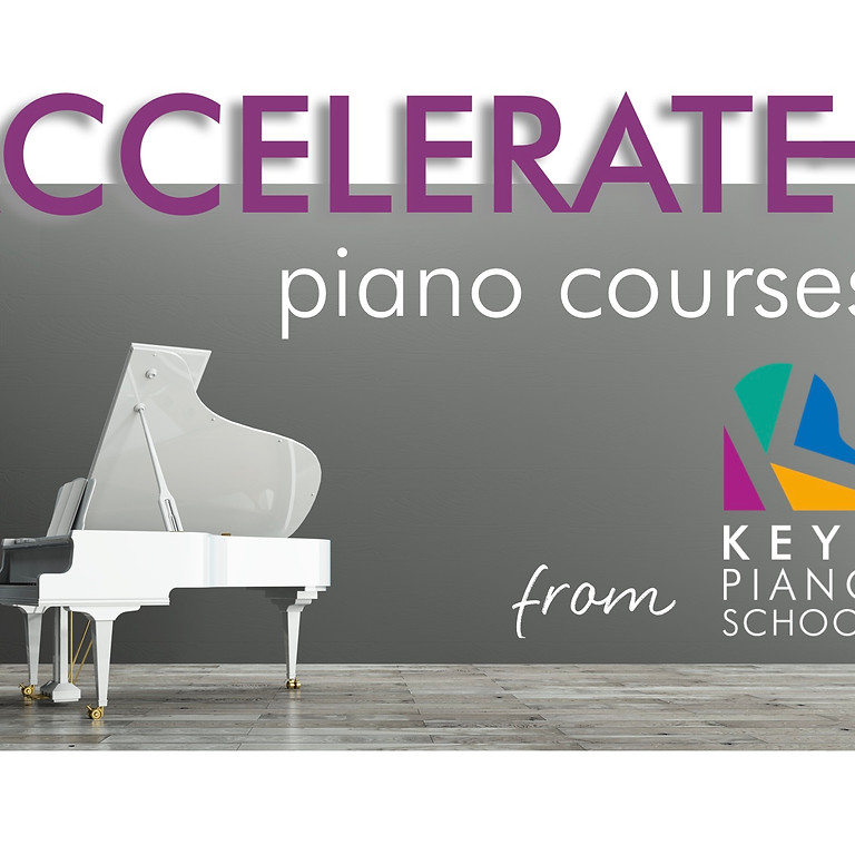 Accelerate Piano Course ALL THREE DAYS 25-27/10