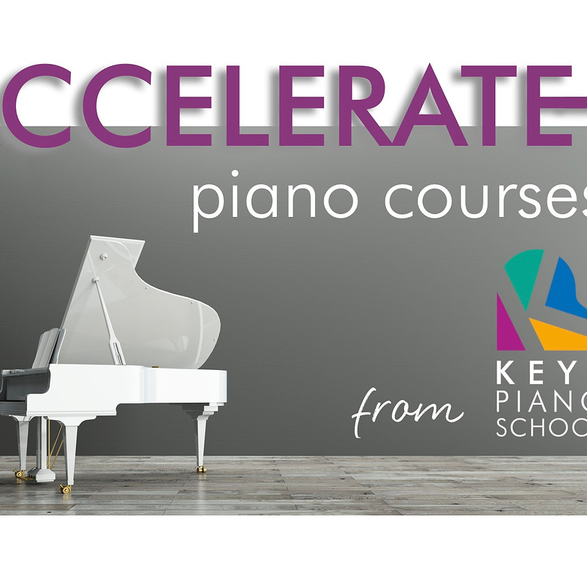 Accelerate Piano Course ALL THREE DAYS