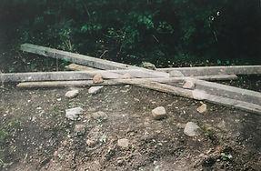 Installation, stone, wood Gill Shreeve 2