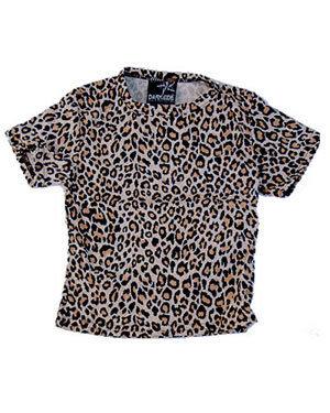 T shirt léopard DARKSIDE