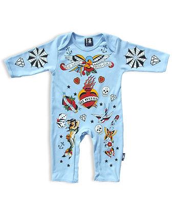 Pyjama ols school bleu SIX BUNNIES