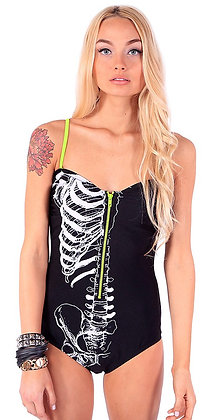 Maillot Caged Zipper IRON FIST