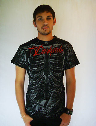 T-Shirt RiP Red Ribs DARKSIDE