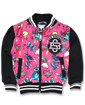 Veste unicorns pink SIX BUNNIES
