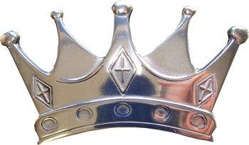 Boucle de ceinture couronne