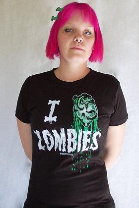 T-Shirt Heart Zombie KREEPSVILLE 666