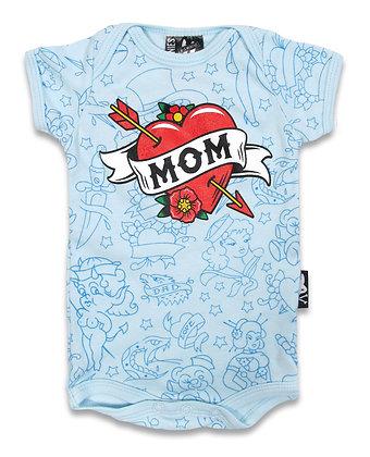 Bodie mom blue SIX BUNNIES