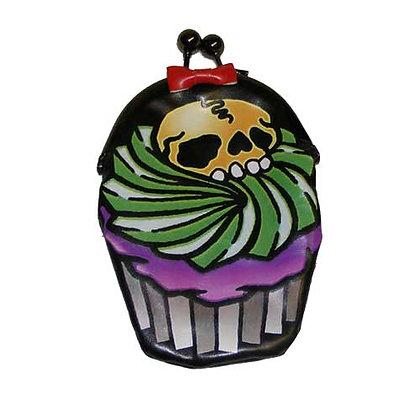 Porte monnaie cupcake skull KREEPSVILLE 666