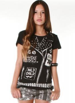 T-Shirt Wild Child Lace ABBEY DAWN