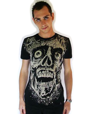 T-Shirt Maggot Head DARKSIDE