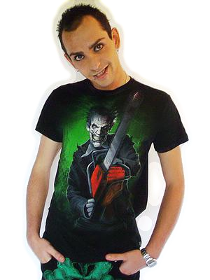 T-Shirt Chainsaw Maniac DARKSIDE