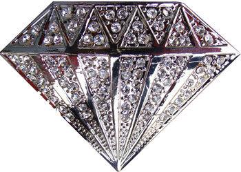 Boucle de ceinture diamant