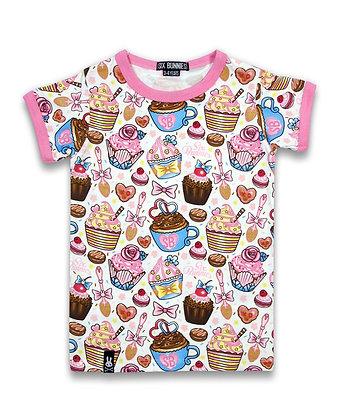 T-shirt Cupcakes SIX BUNNIES