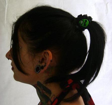 Elstiques Skull Rose Black KREEPSVILLE 666