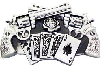 Boucle de ceinture Gun&Cartes