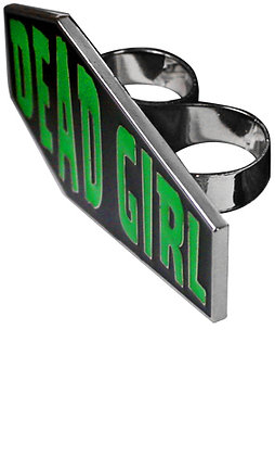 Bague Dead Girl KREEPSVILLE 666