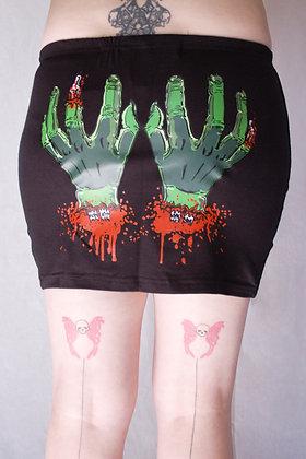 Jupe Cold Dead Hands KREEPSVILLE 666