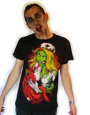 T-Shirt Nurse DARKSIDE