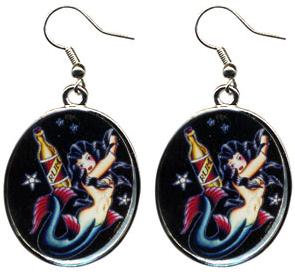 Boucles d'oreille Sailors Dream SOURPUSS