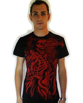 T-Shirt Red Death DARKSIDE