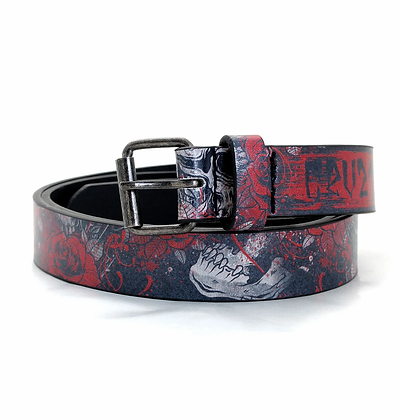 Ceinture Skull and Roses HYRAW