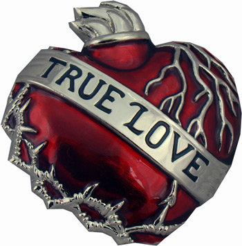 Boucle de ceinture True Love