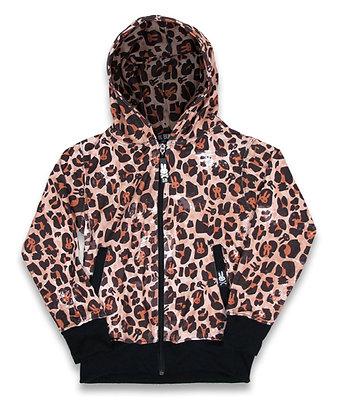 Veste leopard beige SIX BUNNIES