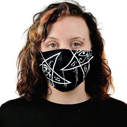 Masque tissu pentagram