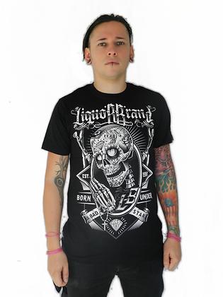 T-Shirt Skully LIQUOR BRAND