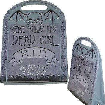 Sac Dead Girl Tombstone KREEPSVILLE 666