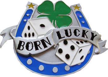 Boucle de ceinture Born lucky