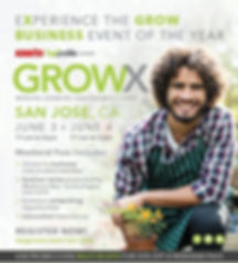 ViaTerra™ is exhibiting at the San Jose GROWX