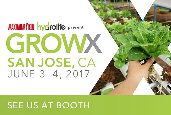 ViaTerra™ LLC is exhibiting at the San Jose GROWX, booth 347. See us there!
