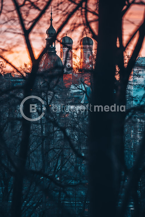 Frauenkirche / Abendstimmung (#1573)