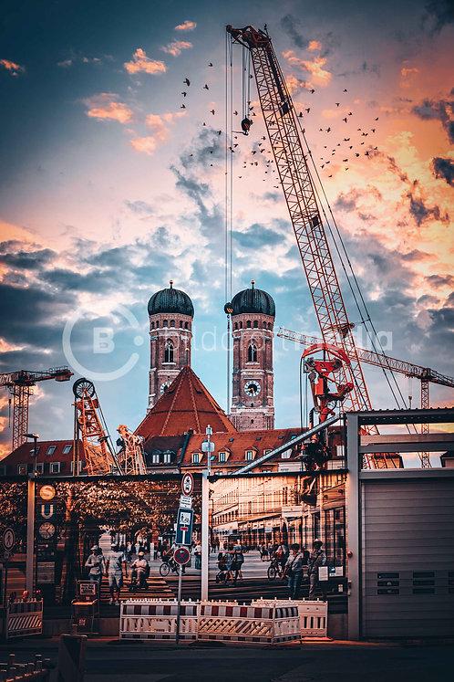 Marienhof / Baustellenromantik (#6448)