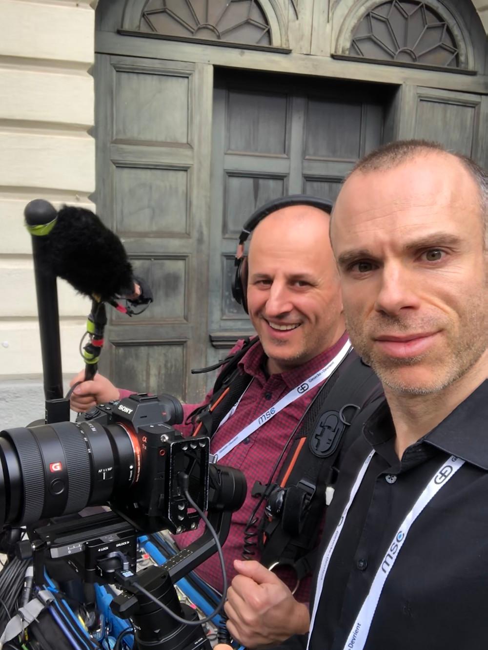 Videoproduktion_Dreharbeiten, Team1 MSC 2020_07