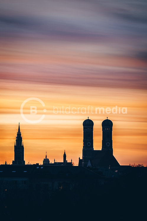Munich Skyline (#6984)