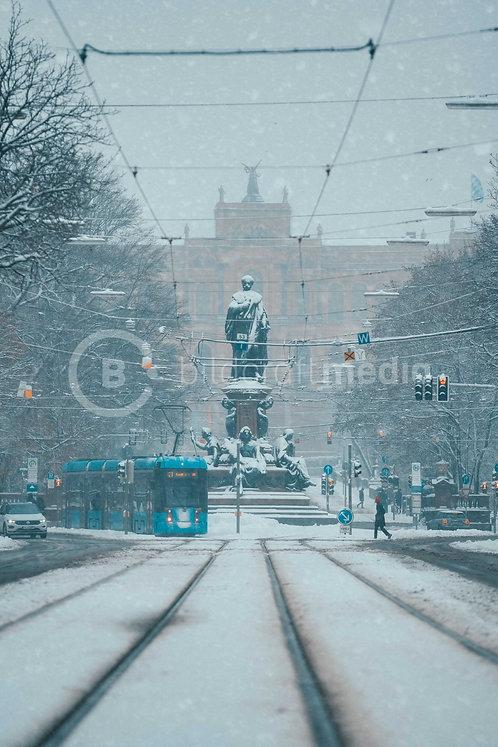 Maxmonument im Winter (#6955)