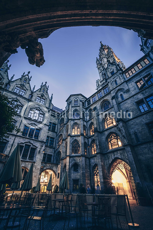 Neues Rathaus / Innenhof (#0120)