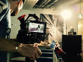 Dreharbeiten Industriefilm Fa. EOS