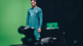 GreenScreen Produktion für den FC Bayern München