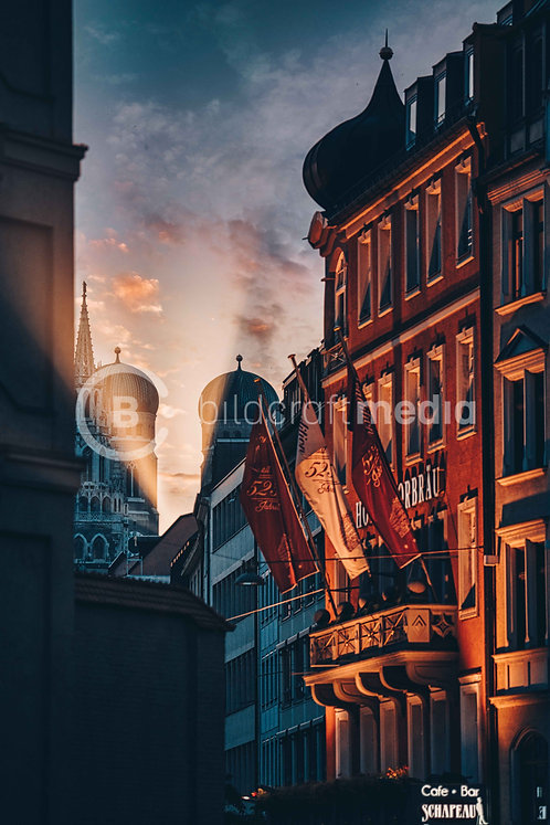 Munich Sunset (#0007)